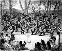 Коренные жители страны — аборигены.